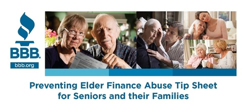 Preventing Elder Abuse Tip Sheet